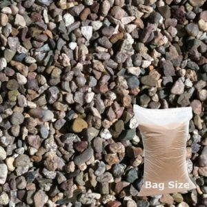 25kg 10mm gravel handy bag