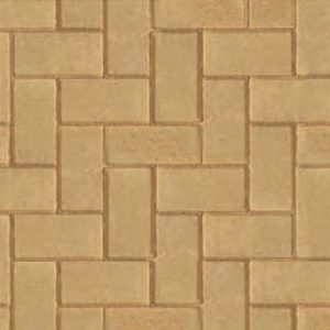 buff block paving 50mm