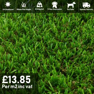 orchard artificial grass 30mm pile 2