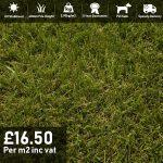 verdigris artificial grass 40mm pile height